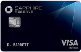 Sapphire Reserve Credit Card