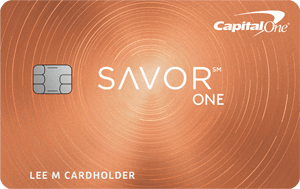 CapitalOne SavorOne Cash Rewards credit card