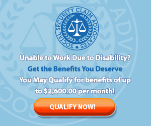 Unable To Work Due To Disability? Get The Benefits You Deserve!