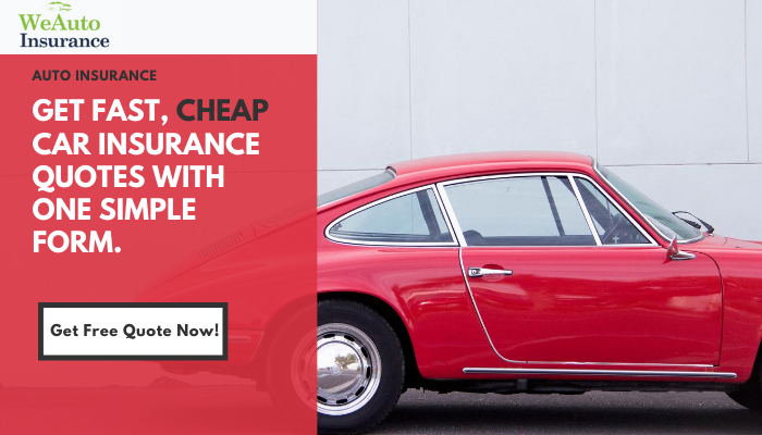 WeAutoInsurance: Get Cheapest Car Insurance Rates From Only $19/Month