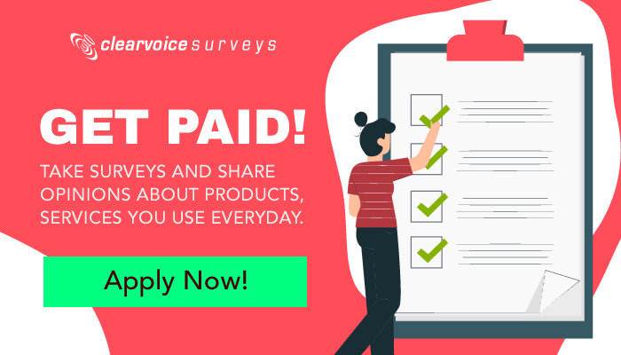 ClearVoice Surveys: Take Surveys, Share Your Opinions and Earn Money