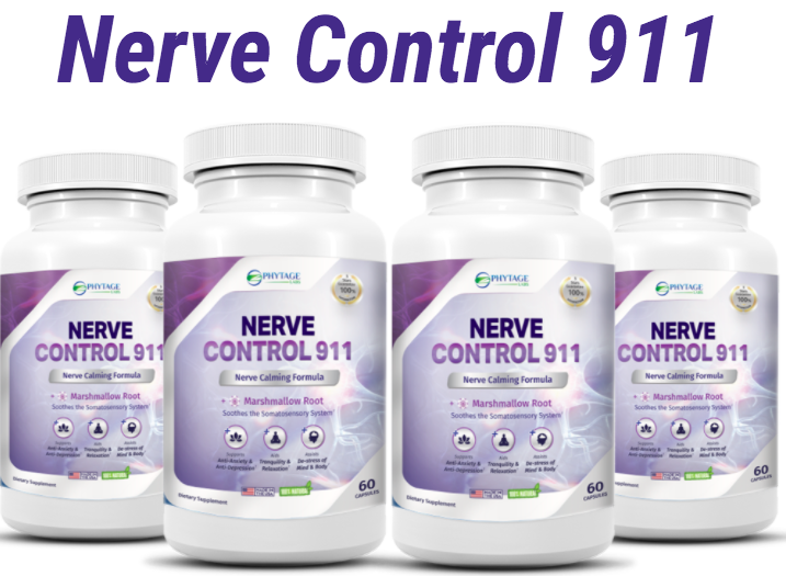 Nerve Control 911: This Product Is a Natural Nerve Pain Reliever